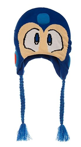 Capcom's Megaman Big Face Helmet Laplander Beanie Video for sale  Delivered anywhere in Canada