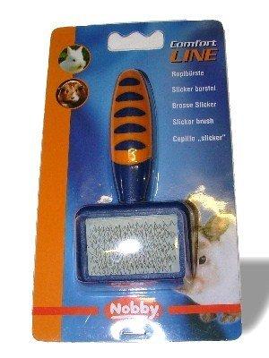 Comfort Line Slicker Brush Rabbits Guinea Pigs - Nobby