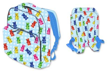 Iscream Gummy Bears Backpack, Bags Central