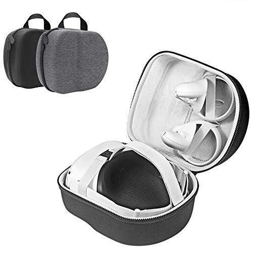 Akaigu Hard Travel Case for Oculus Quest 2 All-in-one VR Gaming Headset and Controllers Storage Box Protective Storage…