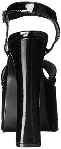 Ellie March Ellie Shoes Black Platform Sandal Womens 656 Shoes Pr77xX4