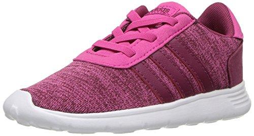 (adidas Baby Lite Racer Running Shoe Real Magenta/Mystery Ruby/White 6K M US Toddler)