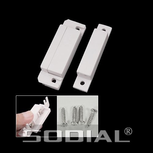 Price comparison product image SODIAL(R) Magnetic Sensor Home Door Window Entry Warning Alarm Switch
