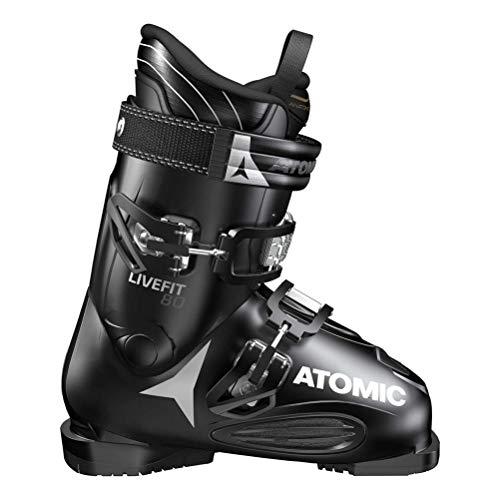 - Atomic Men's Live Fit 80 Ski Boots - 27.5 - Black/Anthracite