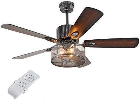 Retro Ceiling Fan light