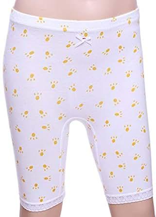 Mariposa White Under Short For Girls