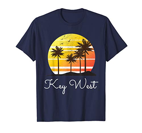 Key West Florida Family Vacation Group Gift Beach T-shirt