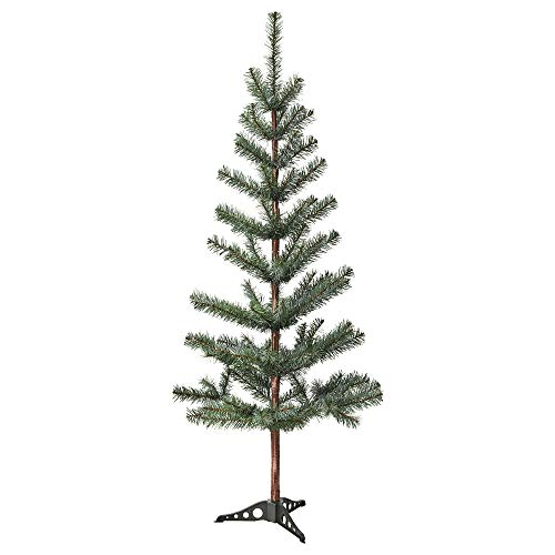 (IKEA Fejka Best Artificial Fake Christmas Tree - 4 ft 7 Inch Realistic Evergreen - Life Like - Douglas Fir Pine - Perfect for Family Xmas - 55 Inches (140 cm))