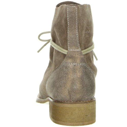 ONLINE SHOES Damen Stiefeletten Echtleder bronze Bronze