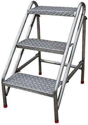 Acero Inoxidable Taburete 3 Pasos Puede Plegables Hogar Cambiar Zapatos Puesto de Flores Al Aire libreIndustria Escalera Personalizado Balcón Escalar Escalera: Amazon.es: Hogar
