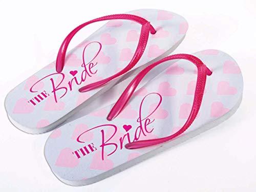 Forum Novelties Bride Flip Flops, - Flops Bride Flip