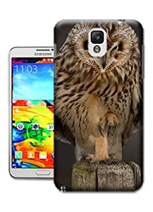 Cute Owl Wallpaper Phone Cases for Samsung Galaxy Note 3 by Bradley's Shop