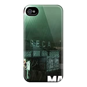 4/4s Scratch-proof Protection Case Cover For Iphone/ Hot Max Payne 3 Game Phone Case