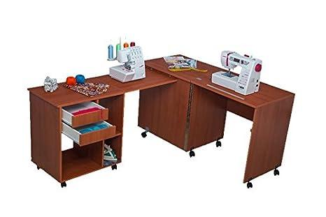 Comfort 8 | Mesa para máquina de coser y overlock | (Beech Ellmau)