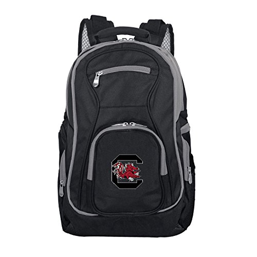 NCAA South Carolina Fighting Gamecocks Colored Trim Premium Laptop Backpack