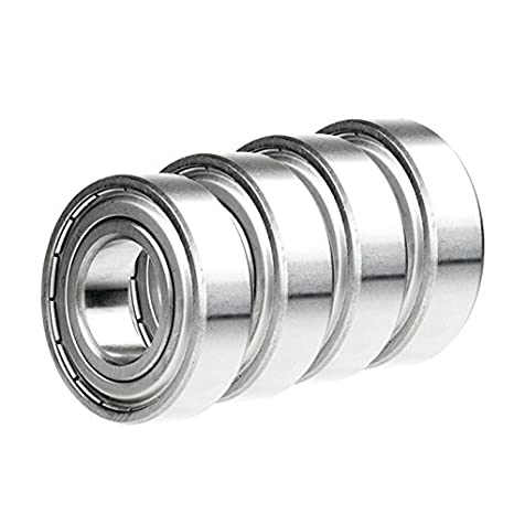 4x 1616-2RS Ball Bearing 1.125in x 0.5in x 0.375in Free Shipping 2RS RS