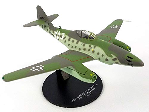 Atlas Messerschmitt Me-262 (Me-262A) Swallow 1/72 Scale Diecast Metal Model (Me262 Model)