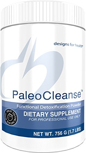 Designs for Health - PaleoCleanse - Pea Protein Isolate Powder + Antioxidant Detox for Liver + Metabolic Pathway Support, 756 Grams