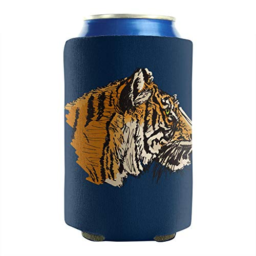 Tigers Eye 12-16 OZ Bottles Neoprene Beverage Coolers Beer Can Sleeves Non-Slip Beer Blank Can Coolers Sleeves Collapsible Insulated Design 2-Pack