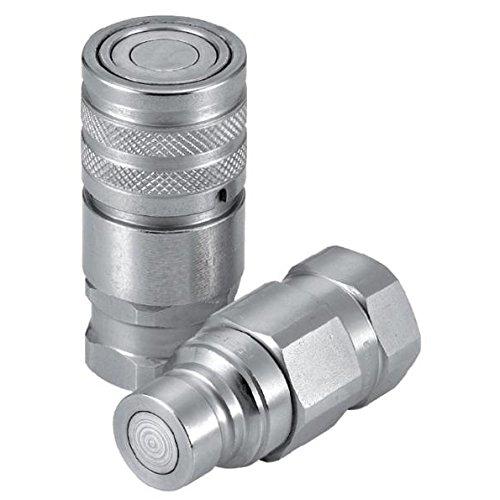 5//8 FFI FB Coupler Steel 5//8 4785 psi Tompkins FFI-10F-12FB Quick Disconnect 1 1//16-12 FB