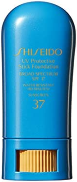 Shiseido UV Protective Stick Foundation SPF 37 02 Fair Ochre 9g .31 oz