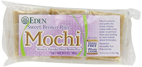 Eden Sweet Brown Rice Mochi, 10.5-Ounce Packages (Pack of 2) by Eden (Image #1)