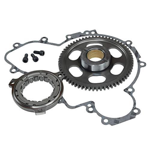 IDEAL New Fits Polaris RZR XP 900 2011~2013 Starter Clutch #1204884 W/Gasket Gear Bolt (Polaris Rzr 900 Gaskets)