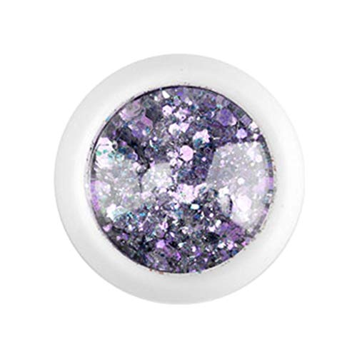 Chunky Glitter Sequins Nail Art Face Body Make Up Decoration Gift For Girl Lady Han Shi (B) ()