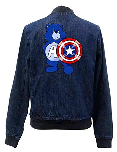 Captain Freak Bear Girls Certified Vest Bomber Jeans rprgvq4w
