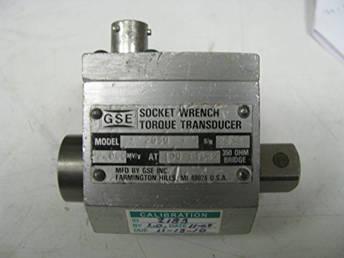 Torque Socket Transducer - GSE Socket Wrench Torque Transducer 100 ft Lbs - GSE14