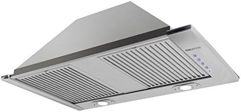 Mepamsa Smart Pro 72 V2 Campana aspirante con grupo filtrante de inox, 35 W, 60 Decibelios, Acero Inoxidable, 3 Velocidades: Amazon.es: Grandes electrodomésticos