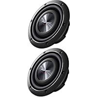 Pioneer TS-SW2002D2 600 Watts 8 Dual 2 Ohm Shallow Mount Car Truck Subwoofer