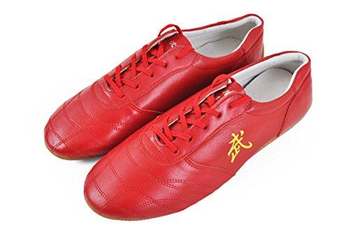 Zapatos Taolu Wu, rojos