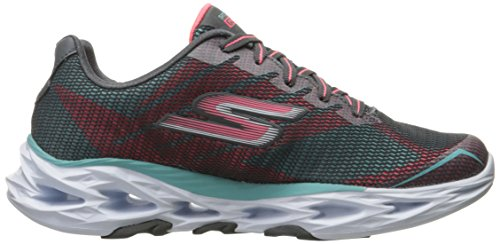 Skechers Performance Womens Go Train Vortex 2 Scarpa Da Passeggio Carboncino / Azzurro