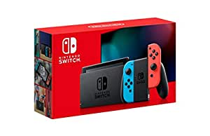 Nintendo Switch (Neon Blue/Red) [new look packaging]