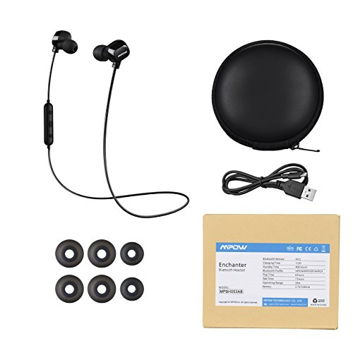 wireless bluetooth headphones mpow wireless bluetooth 4 1 sports headphones. Black Bedroom Furniture Sets. Home Design Ideas