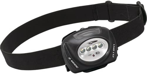 78 Lumens, Black Princeton Tec Quad II LED Headlamp