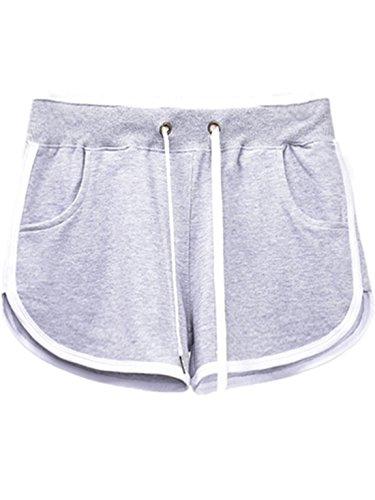 YICHUN Grigio Pantaloncini Donna YICHUN Pantaloncini rUSqOWr8
