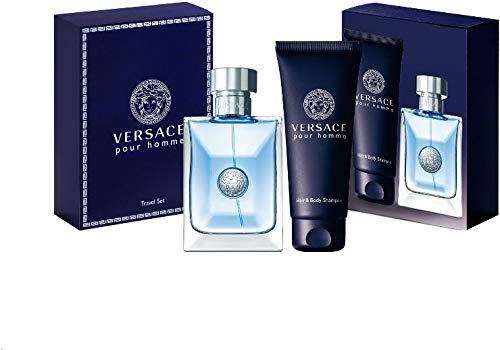 Versace Signature Gift Set, Edt Spray 3.4 Oz & Hair And Body Shampoo