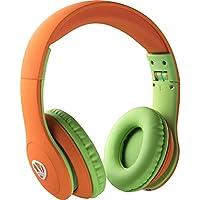 Ncredible Kids Bluetooth Headphones (Orange)