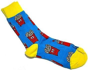 online hier uk billig verkaufen populärer Stil Herren FAST FOOD Socken Frites Chips Pommes Frites eine ...