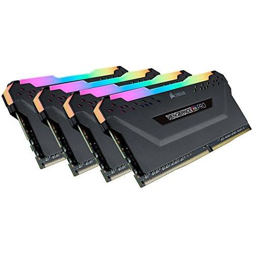 chollos oferta descuentos barato Corsair Vengeance RGB Pro Kit de Memoria Entusiasta 32 GB 4 x 8 GB DDR4 3466 MHz C16 XMP 2 0 Iluminación LED RGB Negro