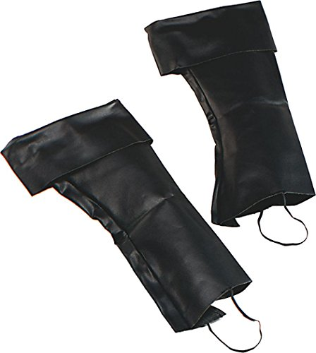Adult Fancy Party Dress Accessory Caribbean Jack Sparrow Pirate Boot Top Covers (Jack Sparrow Boots)