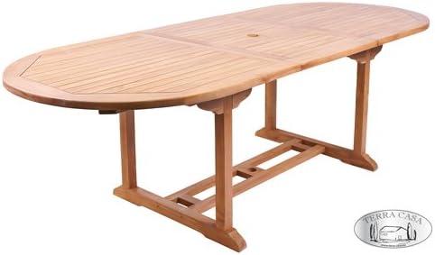 Table de Jardin Manado Extensible en Teck 180-240 cm Table ...
