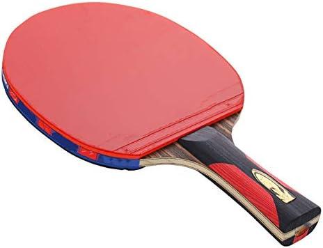 ピンポンパドル 卓球ラケットフロアオールラウンドラケットライトボードスポーツ用品 家庭用または屋外用のTTパドル (Color : Multi-colored, Size : 15x24cm)