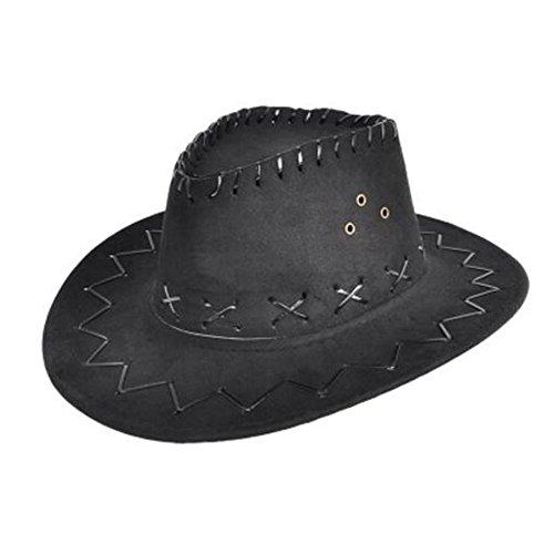 Men/ Women Costume Hats Cowboy Hat Party Hat -Black]()