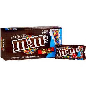 Mars M&m King Size Plain, 3.55 ounces Boxes