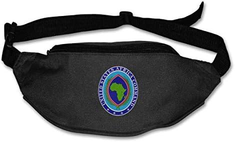 米国アフリカコマンドクレストユニセックスアウトドアファニーパックバッグベルトバッグスポーツウエストパック