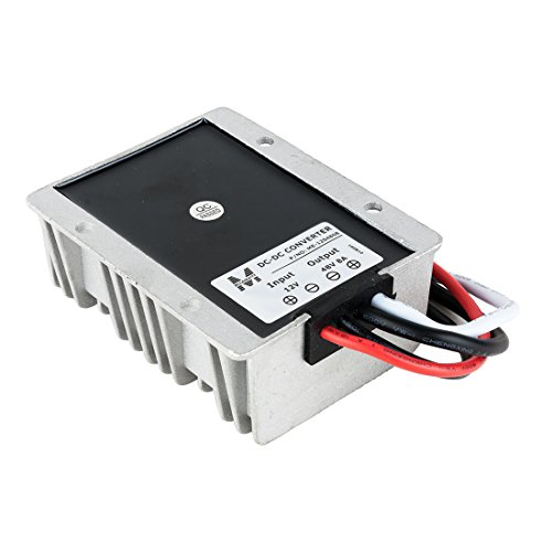 uxcell NEW BIG-SIZE Waterproof DC 12V Step-Up to DC 48V 8A 384W Car Power Supply Module Voltage Booster Converter Regulator by uxcell (Image #1)