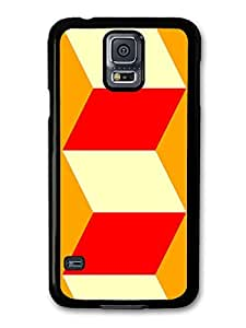 Retro Vintage Squares Cubes Art case for Samsung Galaxy S5
